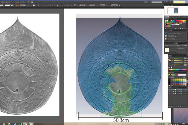 3D造形ソフトで3D彫刻